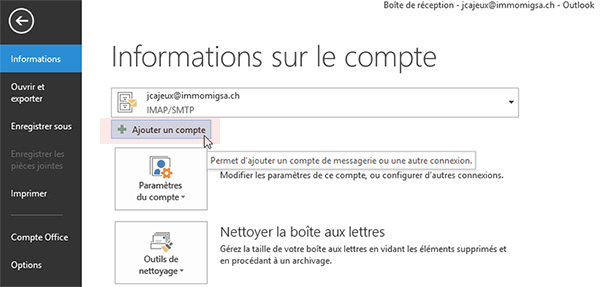 immomig email support imap