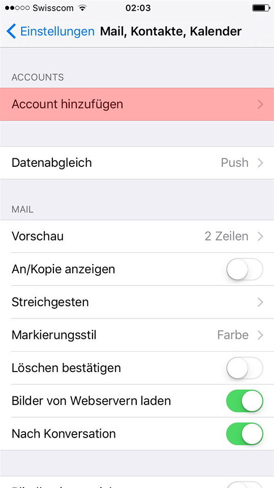 immomig email support iphone